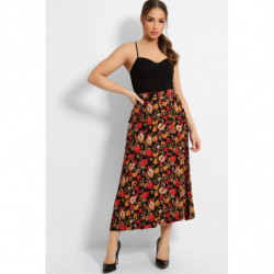 Back Small Floral Print...